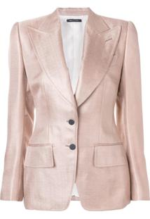 Tom Ford Blazer Slim - Rosa