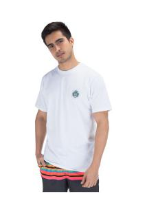 Camiseta Hurley Silk Bagus - Masculina - Branco
