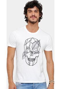 Camiseta Ellus Caveira Classic Masculina - Masculino