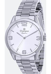 Kit Relógio Feminino Champion Cn29893C Analógico + Conjunto Semijóia