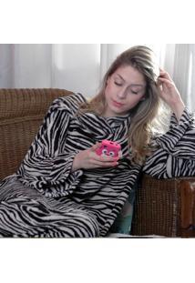 Cobertor Com Mangas Zebra