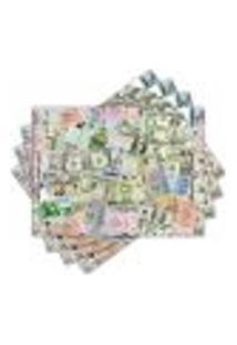 Jogo Americano - Dinheiro Com 4 Peças - 008Jo
