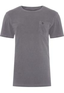 Camiseta Masculina New Pocket - Cinza