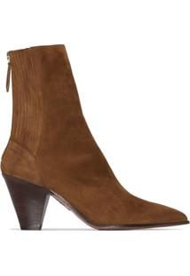 Aquazzura Ankle Boot Saint Honore - Marrom
