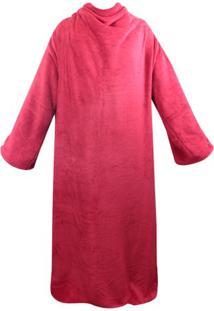 Cobertor Com Mangas Zc Vermelho - Zona Criativa