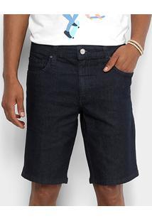 Bermuda Jeans Colcci Davi Masculina - Masculino-Azul Escuro