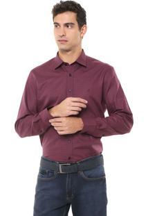 Camisa Aramis Slim Xadrez Vermelha