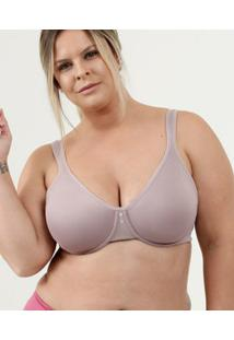 Sutiã Feminino Push Up Sem Bojo Plus Size Dilady