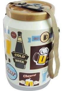 Cooler Para 24 Latas Vintage Creme Doctor Cooler