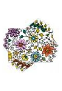 Jogo Americano - Flores Com 4 Peças - 1042Jo