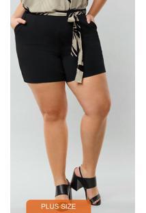 Shorts Malha Malica Ce Preto