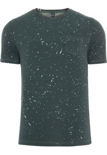 Camiseta Masculina Rain - Verde