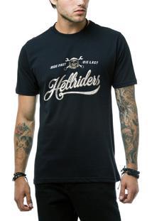 Camiseta Ukkan Hell Riders Preto