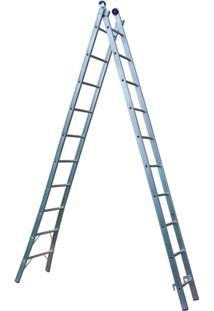 Escada Extensível 2X10 20 Degraus - Unissex