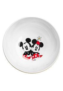 Tigela Mickey E Minnie Ícones 15 Cm - Home Style