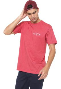 Camiseta Volcom Signer Art Vermelha