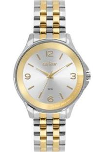 Relógio Condor Top Fashion Bicolor Co Feminino - Feminino