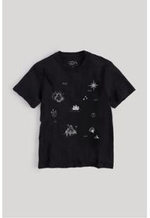 Camiseta Infantil Mapa Do Tesouro Reserva Mini Masculina - Masculino