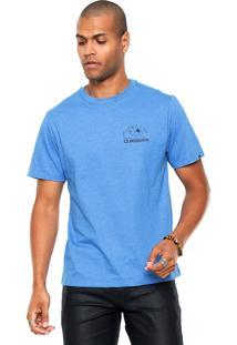 Camiseta Quiksilver Damn Time Azul