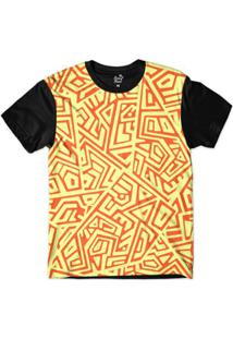 Camiseta Long Beach Arabescos Tiki 2 Sublimada Masculina - Masculino