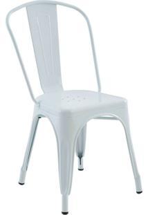 Cadeira Sem Braço Iron-Rivatti - Branco