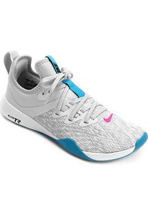 Tênis Nike Foundation Elite Tr Feminino - Feminino-Cinza+Azul