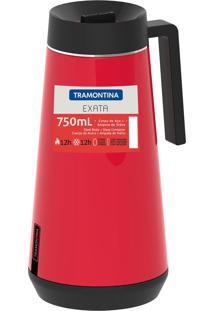 Bule Térmico Exata Com Infusor 750Ml Vermelho 61644076 Tramontina