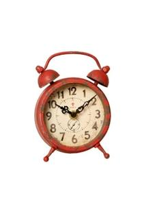 Relógio De Parede Decorativo Edmond Jaeger De Metal Envelhecido - Unissex