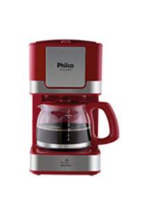 Cafeteira Philco Ph16 Inox Vermelho 127V