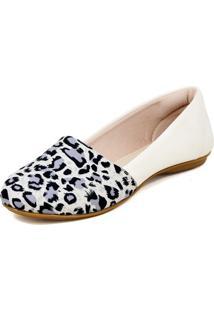 Alpargatas Magi Shoes Estampada Bege