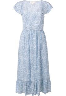 Michael Michael Kors Vestido Floral - Azul