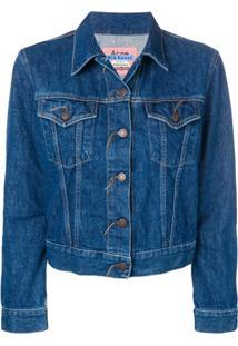 Acne Studios Jaqueta Jeans 1999 Trash - Azul