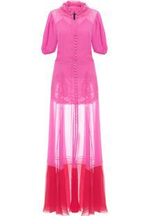 Vestido Poli Couture - Rosa