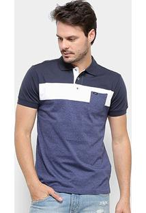 Camisa Polo Gajang Euro Haarlen Masculina - Masculino-Azul