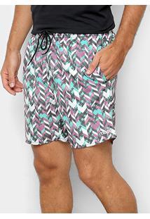 Bermuda Mood Elástico Masculina - Masculino
