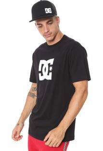 Camiseta Dc Shoes Star Preta