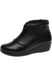 Bota Anabela Doctor Shoes 155 Preto