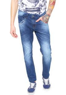 Calça Jeans Rock&Soda Super Skinny Azul