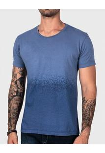 Camiseta Degradê Azul Estonado 102138