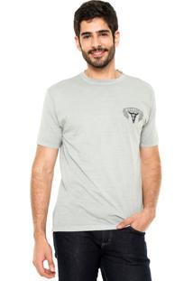 Camiseta Wrangler Spot Cinza