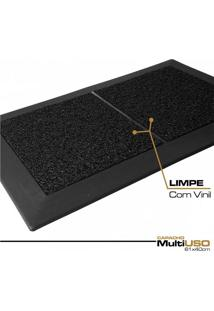 Capacho Multiuso 61X40Cm Kit Limpeza - 1 Bandeja E 2 Vinil
