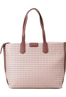 Bolsa Shopping Bag Ana Hickmann Castanho