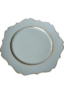 Sousplat Vintage Azul