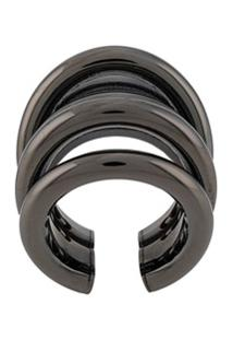 Federica Tosi Ale Adjustable Ring - Prateado