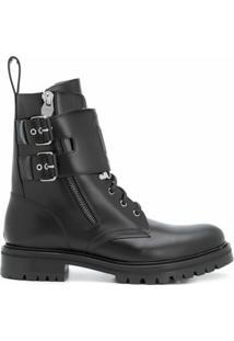 Balmain Ankle Boot Chunky - Preto