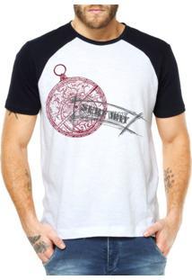 Camiseta Raglan Criativa Urbana Surf Way