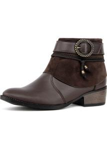 Bota Elegancy Ankle Bootbrides Café