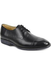 Sapato Social Polo State - Masculino-Preto