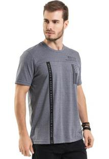 Camiseta Estampada Cinza Bgo