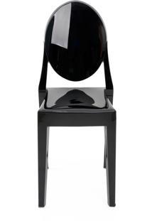 Cadeira Sofia Sem Braço Pc Preto Rivatti Móveis